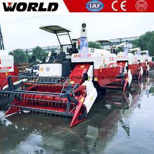 Factory Supply Whole Feeding 88HP 4lz-4.0e Paddy Mini Combine Harvester pictures & photos