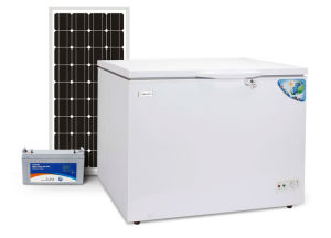 off Grid 100% Solar Powered DC 12V 24V Chest Freezer 230L pictures & photos