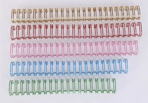 School Supplies Double Loop Binding Spiral Notebook Binding Book Used Wire O pictures & photos