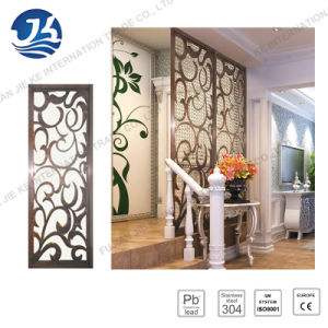 Chinese Style Metal Folding Movable Room Divider