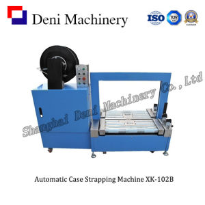 Automatic PP Ribbon Case Strapping Machine with Low Platform (XK-102B)