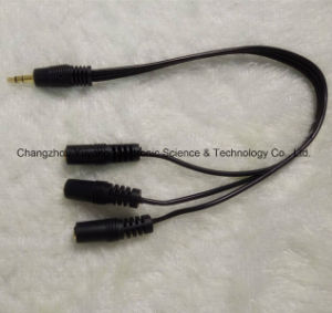 High Speed 3.5 Stereo Plug to 3X3.5 Jack/AV Cable pictures & photos