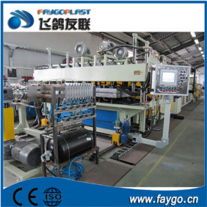 UPVC HDPE Corrugated Roofing Sheet Extrusion Making Machine Line pictures & photos