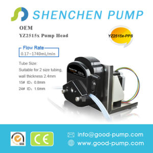 Yz25 (PPS) Stepper Motor 0.17-1740ml/Min Liquid Transfer Peristaltic Pump pictures & photos
