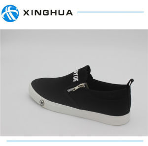 2017 Good Design Rubber Shoes Canvas Cheap Casual Footwear pictures & photos