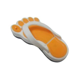 Shoes Shape PVC USB Pendrive Creative USB Flash Drive with Customized pictures & photos