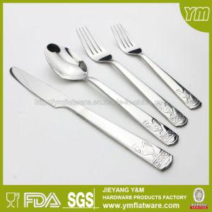 Stainless Steel Restaurant Flatware Engraved Catering Flatware