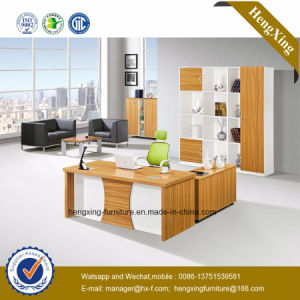 Chinese Stock Lots Discounted Cheap Modern Wooden Office Desk (HX-GD010) pictures & photos