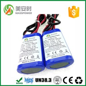 7.4V 1200mAh Li Ion Battery Pack for Power Tools Use Lithium Li-ion 18650 Battery pictures & photos