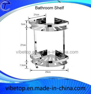 Wholesale Export Wall Mount Stainless Steel Bathroom Triangle Shelf pictures & photos