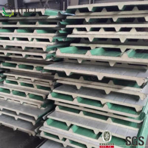 Heat-Insulated PU Foam Board Polyurethane Sandwich Panel pictures & photos