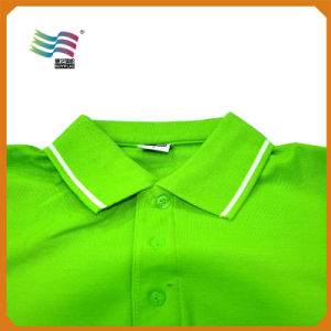 Cheap Custom Polo T-Shirts with Logo Printing (HY8790) pictures & photos