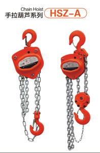 Hsz Model Chain Block, Chain Pulley Block pictures & photos