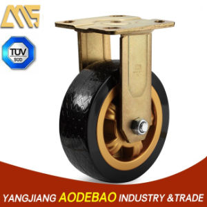Heavy Duty Fix PVC Caster Wheel pictures & photos