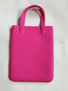Waterproof Light Weight Neoprene Shopping Bag Handbag Shoulder Bag Tote Bag pictures & photos