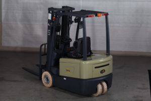 1300 Kgs Capacity Three Wheel Electric Forklift pictures & photos