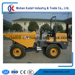 3tons 4WD Diesel Site Dumper with Hydraulic Tipping Hopper SD30 pictures & photos