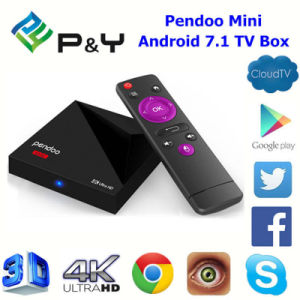 2017 Newest Android TV Box Pendoo Mini Rk3328 1GB 8GB Media Player with Android 7.1 OS pictures & photos