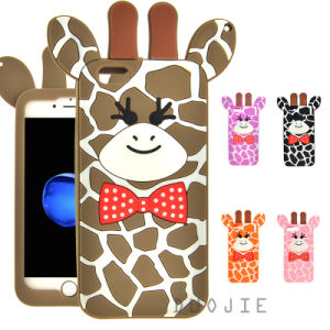 New Cartoon Deer Silicone Phone Case for Huawei P8lite P9 Y6II Y5II Mobile Phone Cover (XS-G120) pictures & photos