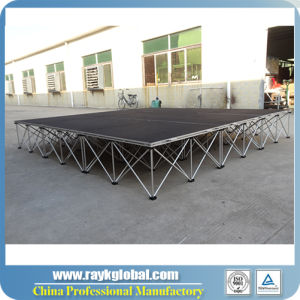 High Quality School Portable Stage Folding Stage pictures & photos
