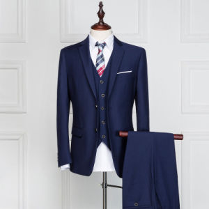 Blue Custom Made Suit of Leisure Style pictures & photos