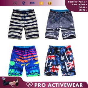 New Arrival Wholesale 4 Way Stretch Custom Mens Surf Board Shorts pictures & photos
