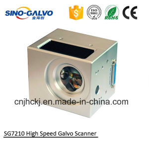 Laser Marker Head Sg7210 for 20W Fiber Laser Marking Machine pictures & photos