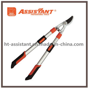 Secateurs Pruning Shears Compound Anvil Loppers with Telescopic Aluminum Handles pictures & photos