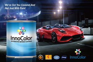Yellowing Resistant Color Paint for Car Repair pictures & photos