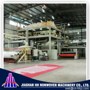 Fine Quality 1.6m SMMS PP Spunbond Nonwoven Fabric Machine pictures & photos