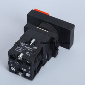 Square Illuminated Type Push Button Switch with Red/Green Color pictures & photos