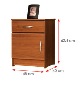 Wooden Wardrobe /Nightstands /Shoes Case /Side Cabinet (HX-DR369) pictures & photos