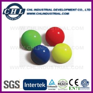 Promotional Multi Color Light 32mm Rubber Bouncing Ball for Kids pictures & photos