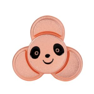 Hot Rose Gold Metal Panda Tri- Hand Spinner R188 Finger Fidget pictures & photos