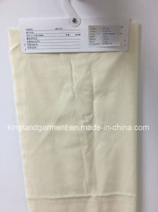 Polyester Fireproof Plain Dyed Cream Cloth pictures & photos