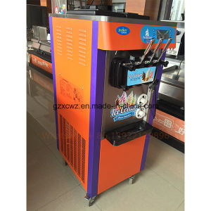 New Color Painting Cheap Price Factory Hot Sale Floorstand Soft Ice Cream Machine with Ce on Sale pictures & photos