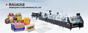 800GS Best Quality Box Folding Gluing Machine pictures & photos