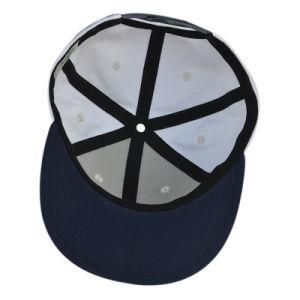 White Hot Sale Flat Brim Snapback Hat/Cap pictures & photos