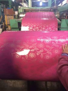 Steel Yehui Long Term Cooperate Supplier Prepainted Galvanized Steel Coil PPGI pictures & photos