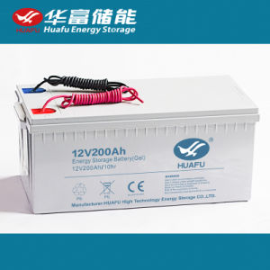 Maintenance Free General Purpose Gel Batteries 12V200ah pictures & photos