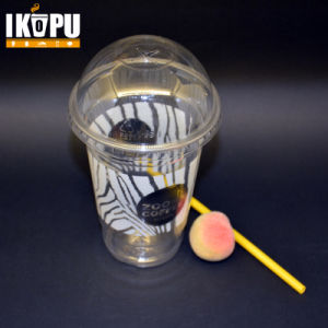 Disposable Clear Pet Plastic Soft Drinking Juice Cup pictures & photos