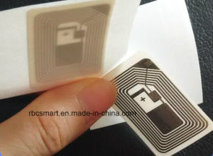 Transparent RFID/NFC Anti Metal Stickers Tags Rewritable Ntag215 Uid Changeable Smart ID Cards pictures & photos