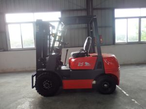 Niuli 3.5t Diesel Forklift Truck with Ce pictures & photos