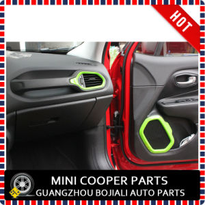 Auto Accessory ABS Material Green Style Air Vent Cover&Speaker Trim Renegade (4PCS/SET) pictures & photos