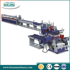 Hicas Automatic Comb Finger Jointing Production Line for Timber pictures & photos