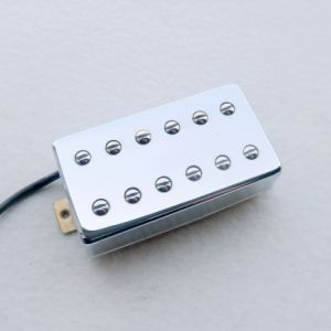 Chrome AlNiCo Lp Guitar Pickup with 12 Adjustable Pole Screws pictures & photos