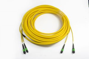 MPO/APC Fiber Optic Trunk Cable 48core Sm Ofnp pictures & photos