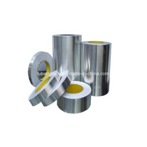 Aluminum Foil Tape, Water Proof Alu Tape with White Paper Liner pictures & photos