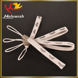 Customized for Phone Polyester Silk Screen Wristbands pictures & photos