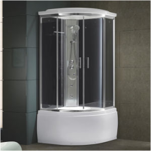 Shower Cabin with Glass Back Board (K-553NA) pictures & photos